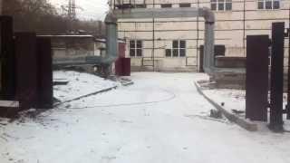Откатные ворота с электроприводом(, 2014-11-30T09:17:06.000Z)