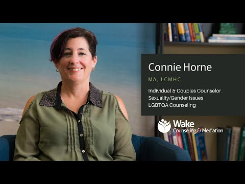 Connie Horne - Therapist for Individual, Couples, LGBTQA Community