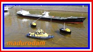 Madurodam Miniaturenpark Den Haag Holland - Fire boat
