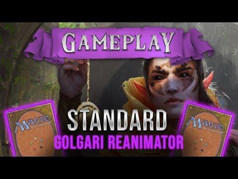 Gameplay: BG Reanimator X Monogreen/Monowhite/Grixis Pirates (Standard, Arena)