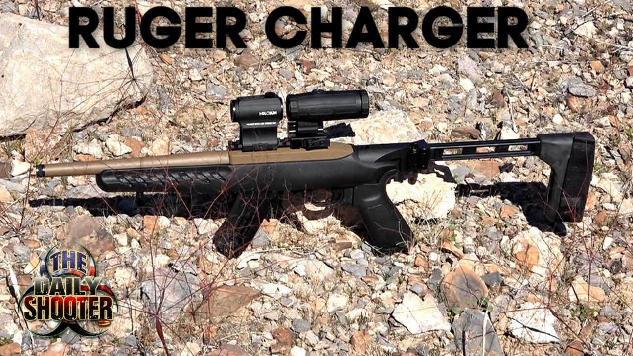 Ruger Charger Project Review FDE with SB Tactical Folding Brace