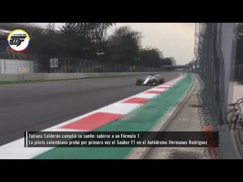 Así fue el debut de Tatiana Calderón en el Sauber F1