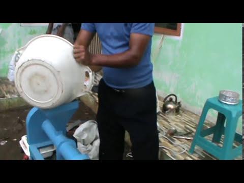 Mesin pelet apung, kecil-kecil cabe rawit (60 kg/jam)