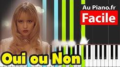 Angèle  - Oui ou Non Piano Facile Instrumental