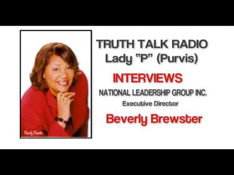 National Leadership Group Inc - Founder, Beverly Brewster Interview