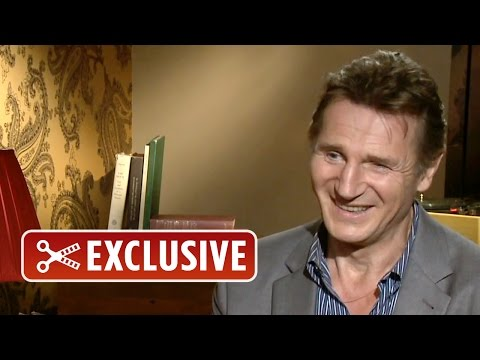 Exclusive Interview: Liam Neeson - How to Be a Bad Ass On the Phone (2014) HD