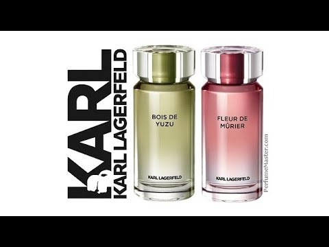 Karl Lagerfeld Parfums Marieres Fleur De Murier Bois De Yuzu