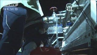 千葉・富津市内で約4800戸が断水 水道管から水漏れ(2020年12月30日) - YouTube