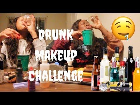 Drunk Makeup Challenge + Chit Chat + Jam Session