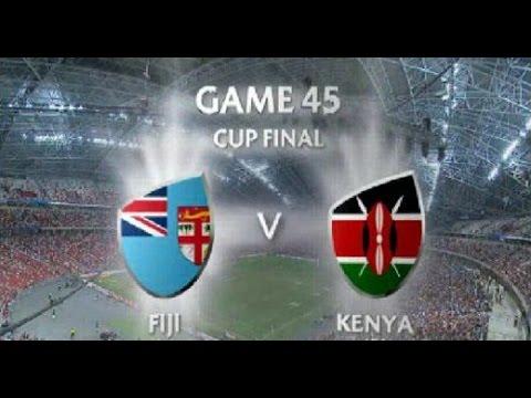 Fiji vs Kenya Singapore 7s 2016 Cup Final