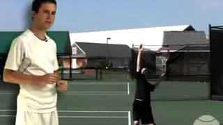 учимся подавать в большом теннисе часть 5