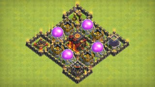 Save Your Loot Town Hall 10 Base Farming Clash of Clans 2018