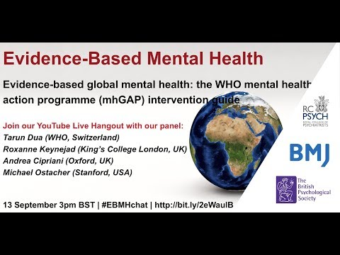 WHO mental health gap action programme (mhGAP) intervention guide