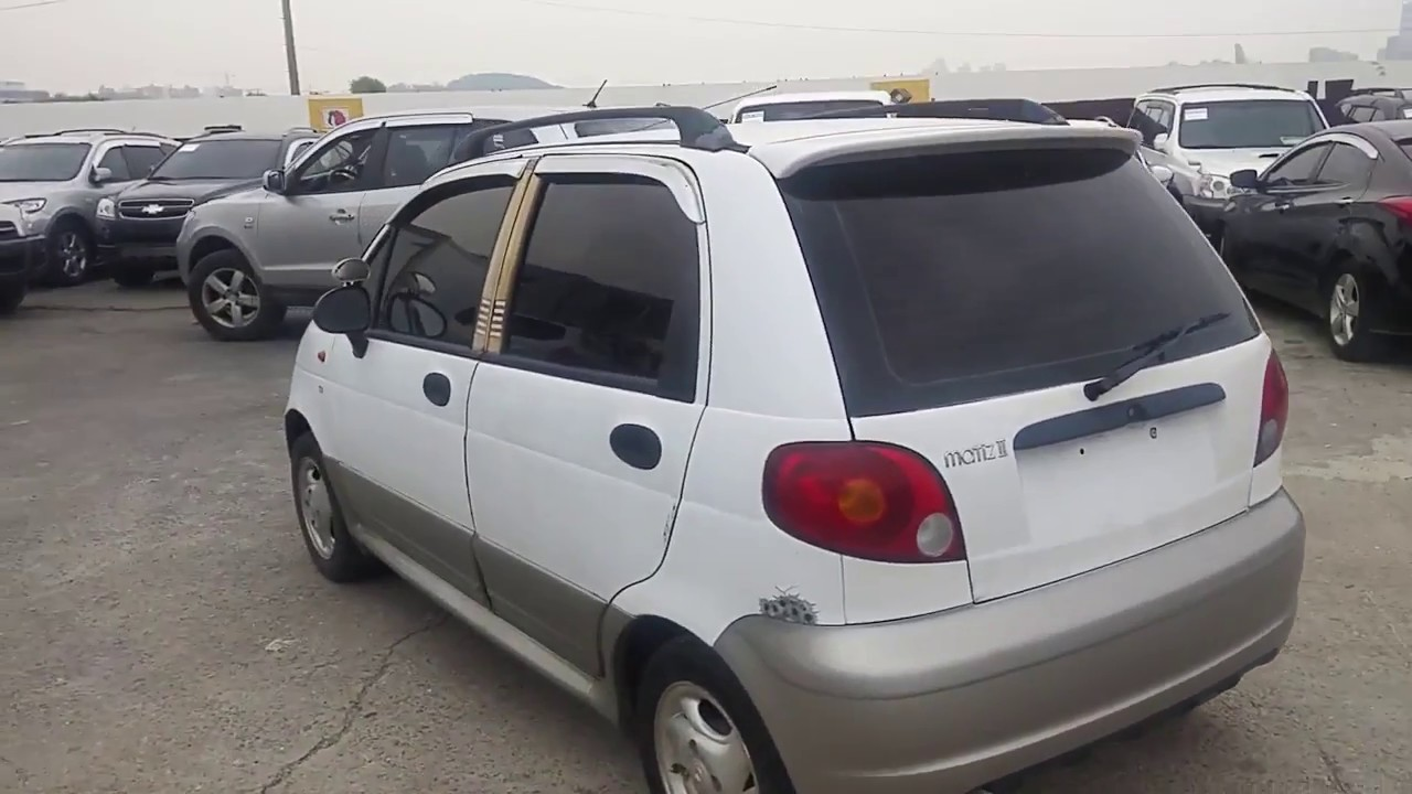 Autowinicom 2004 Gm Daewoo Matiz Ii Mx Manual Youtube