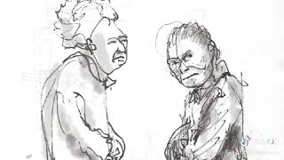 I sketched these old Ladies