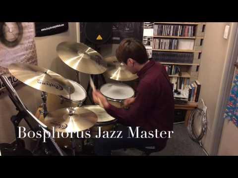 드러머 장성모_Bosphorus Jazz Master Cymbals_Drummer Jang Sung Mo