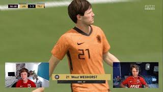 Het spitsenduo van Oranje   Jens van der Flier & Dani Visser   AZ eSports