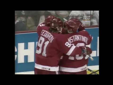 Detroit Red Wings 1995-96 Season Highlights (Part 1)