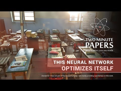 This Neural Network Optimizes Itself | Two Minute Papers #212