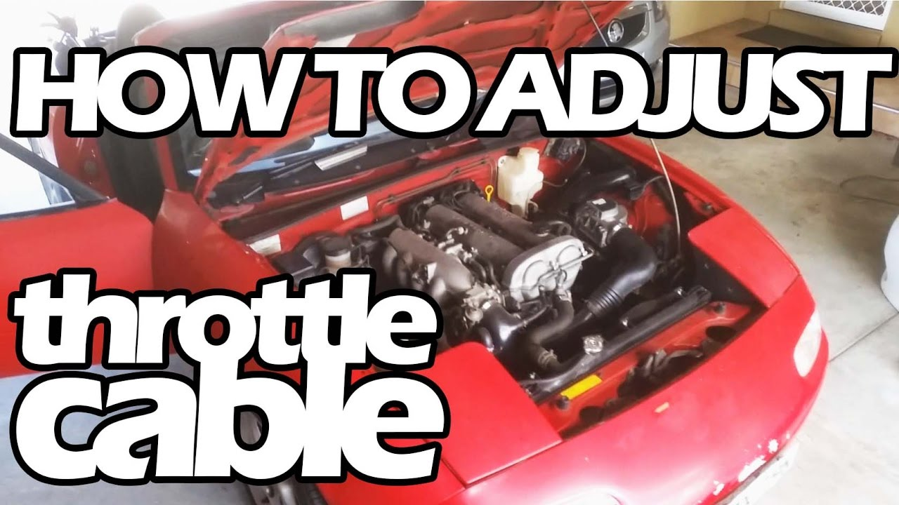 How To Adjust Your Throttle Cable Youtube 2003 Isuzu Rodeo Wiring Premium