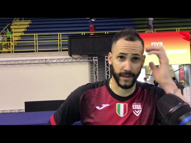 Osmany Juantorena alla vigilia dell'esordio nel Mondiale per Club