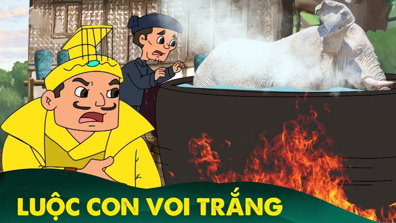 Truyện cổ tích – LUỘC CON VOI TRẮNG – Chuyen co tich – Phim hoạt hình Khoảnh khắc kỳ diệu hay nhất