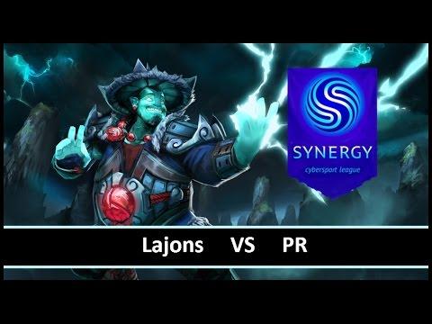 [ Dota2 ] Lajons vs PR - Synergy League - Thai Caster
