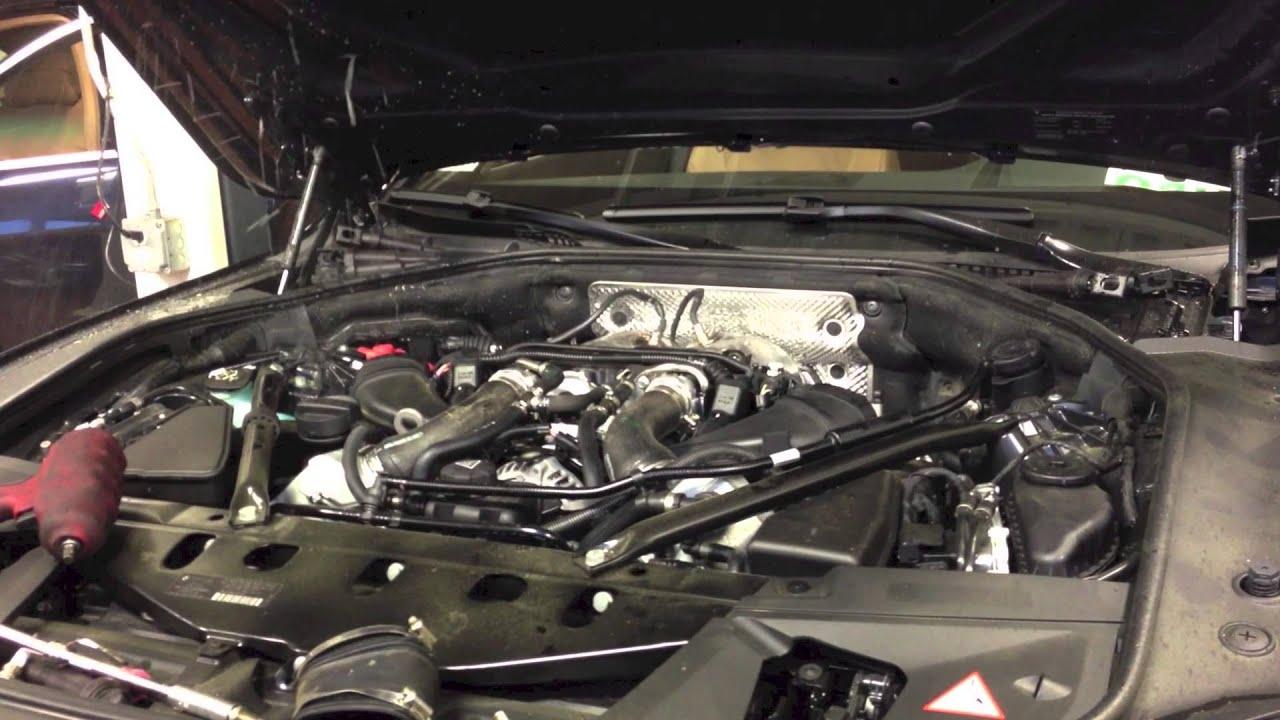 2013 BMW 750xi - Hydrolocked engine (N63TU) - YouTube