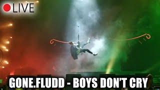 Эпичное появление GONE.FLUDD - BOYS DONT CRY / концерт Москва 30.03.2019