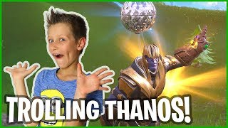 The Ultimate Way to Troll and Kill Thanos!