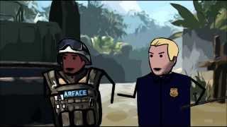 Warface Noobs - Чёрный игрок [17 серия]