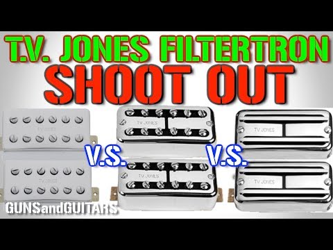 A TRUE Comparison: TV Jones Classic vs Super'tron vs Power'tron Filtertron Sound Test