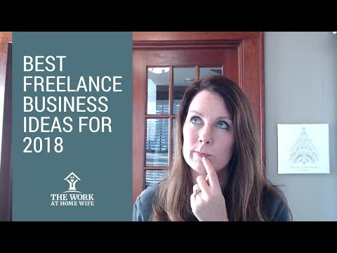 Freelance Business Ideas for 2018