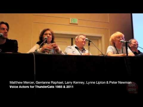 ThunderCon 2012 ThunderCats Voice Actor Panel With Larry Kenney, Peter Newman & Lynn Lipton