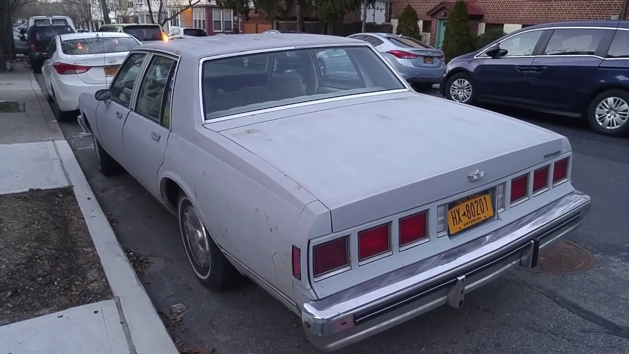 1980 Chevrolet Caprice Classic - YouTube