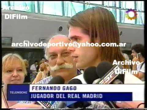 DiFilm - Gonzalo Higuain y Fernando Gago nuevos jugadores del Real Madrid 2006