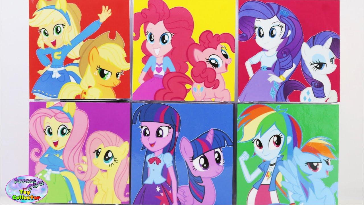 My Little Pony Surprise Cubeez Cubes MLPEG Mane 6 MLP ...