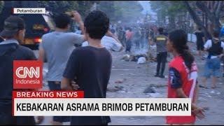 Download Kronologi Pembakaran Mobil, Motor & Penyerangan di Asrama Brimob Petamburan Mp3 and Videos