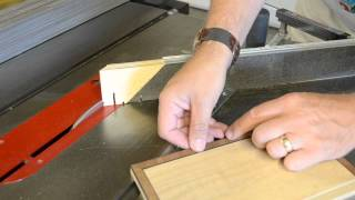 Mitering Fragile Moldings with the Osborne EB 3