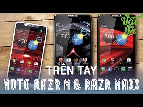 "[Review dạo] Trên tay ""cựu siêu phẩm"" Motorola Droid Razr M & Razr MAXX"