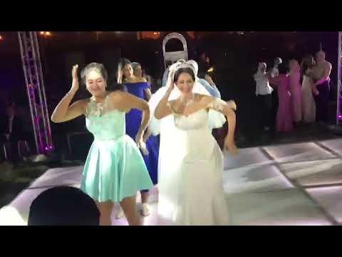 رقصة رائعة للاعبة كرة السلة بنادي الزمالك الصيدلانية ندى سمير الجيزي مع اخواتها وصديقاتها ج1