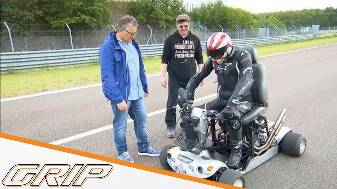 Weltrekordversuch im  Mobility Scooter - GRIP - Folge 407 - RTL2