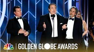 """""""Green Book"""" Wins Best Screenplay - 2019 Golden Globes (Highlight)"""