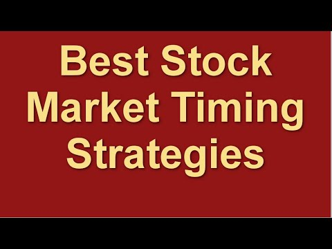 best-stock-market-timing-strategies-|-stock-market-entry-exit-signal-indicator
