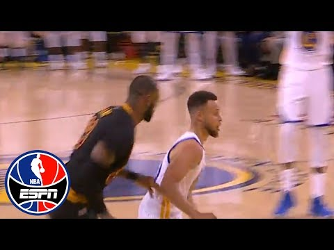 Byron Scott's favorite Steph Curry moment so far was one play vs LeBron James | NBA Countdown | ESPN
