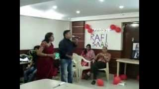 Celebrating Rafi Saab