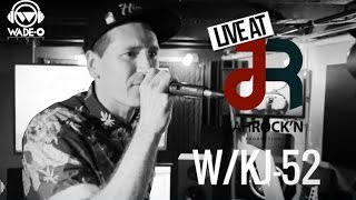 pt 3 watch kj 52 destroy this freestyle leaving dj wade o in awe   live jahrock n s3e15