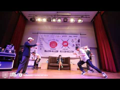 Kick&Snare X Loose Unit 2016 │Popping Top8 │Nao VS Willian