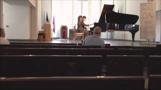 Dvorak Slavonic Dance op 46, no 5, in A major by Hilary Ho & Cindy Tsang 何穎姍 曾雪瑩
