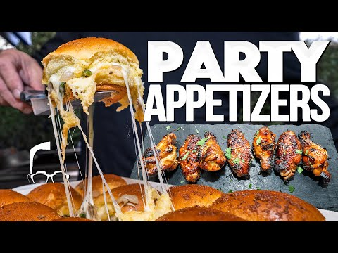 THE ULTIMATE PARTY APPETIZERS FOR NYE | SAM THE COOKING GUY
